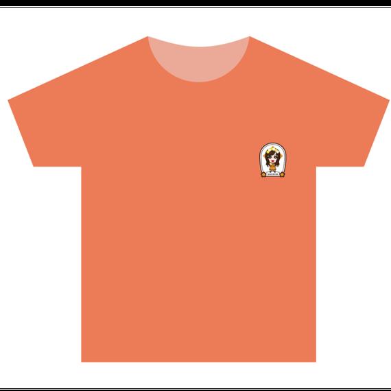 Tシャツ(オレンジ)