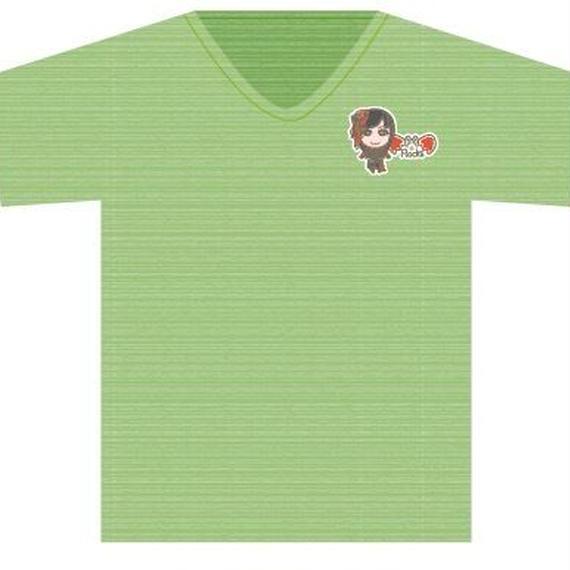 Tシャツグリーン(ROCKキャラ)