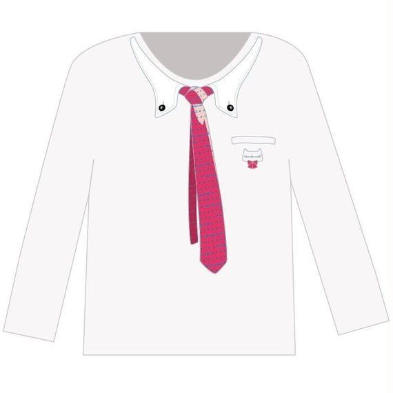 フォーマルロングTシャツ(白)