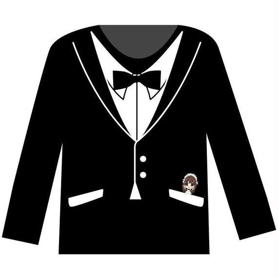 フォーマルロングTシャツ(黒)