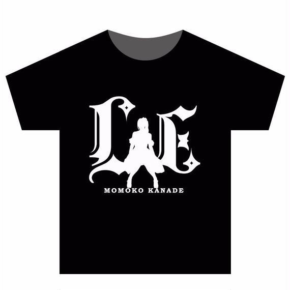 Tシャツ ブラック×ホワイトロゴ(Lush*Energyロゴ)