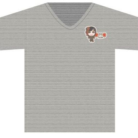 Tシャツチャコール(ROCKキャラ)