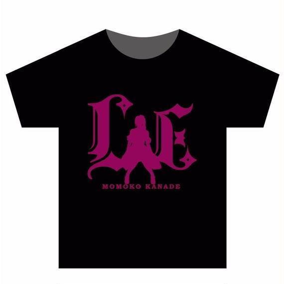 Tシャツ ブラック×ピンクロゴ(Lush*Energyロゴ)