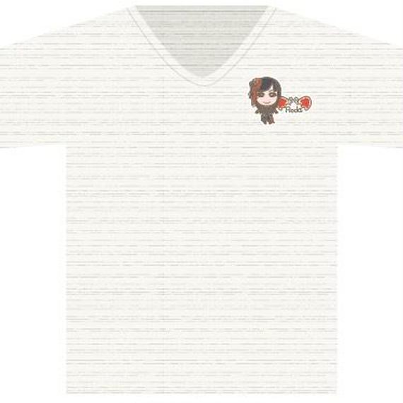 Tシャツオートミール(ROCKキャラ)