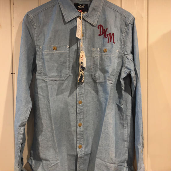 SERVICE LS CHAMBRAY SHIRT
