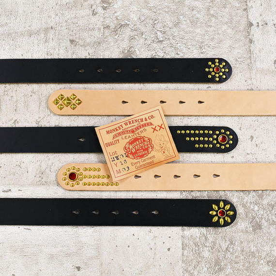 MONKEY WRENCH × LUTHERIE LEATHERS ORIGINAL BELT