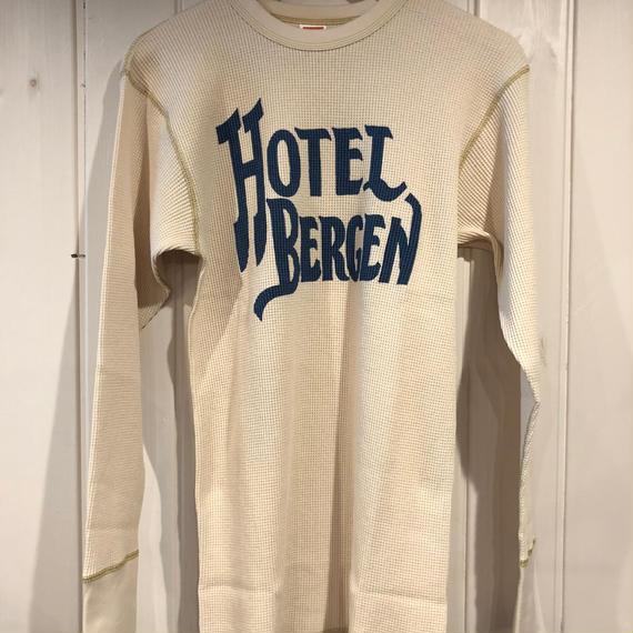 "THERMAL LONG SLEEVE ""HOTEL BERGEN"""
