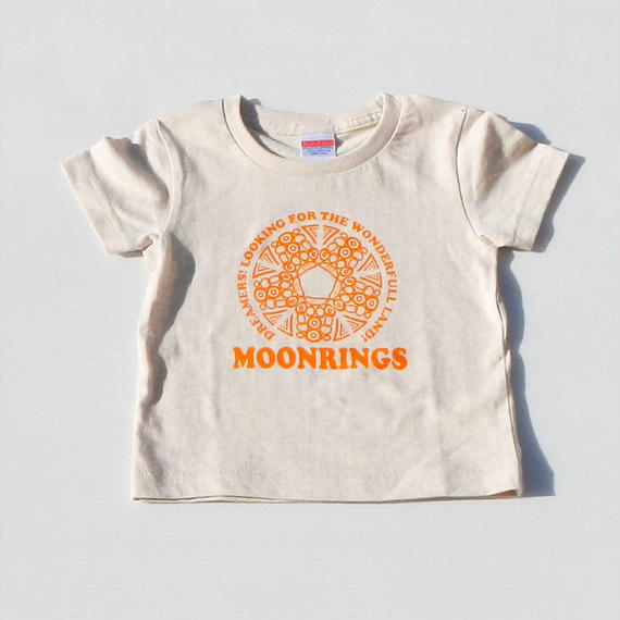 Moonrings DreamersKids Tshirts・orange