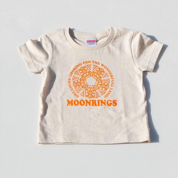Moonrings DreamersKids Tshirts・orange