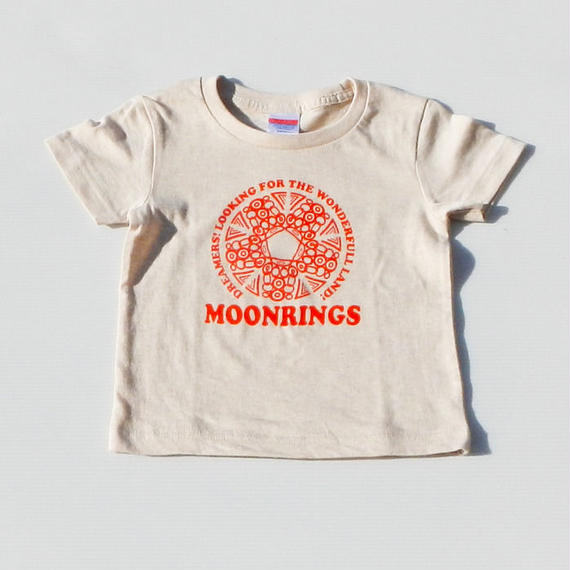 Moonrings DreamersKids Tshirts・red