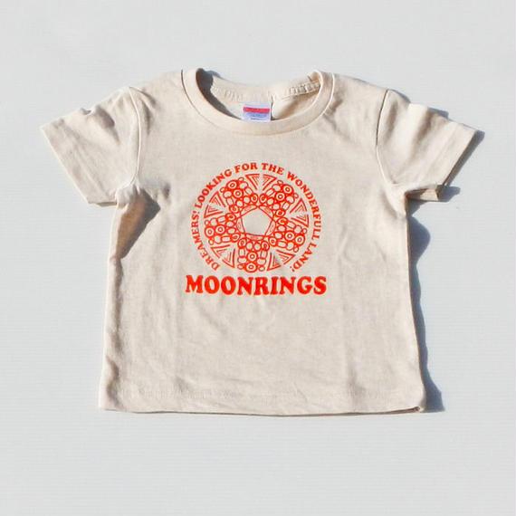 Moonrings DreamersKids Tshirts・red