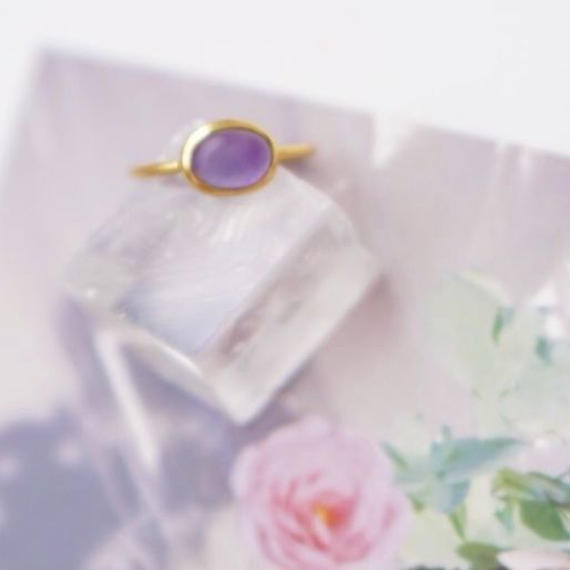 matte glass ring
