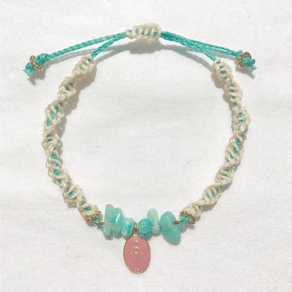 93 amazonite sango code bracelet