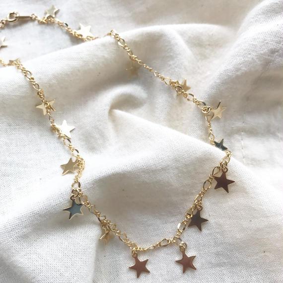146 petit star choker