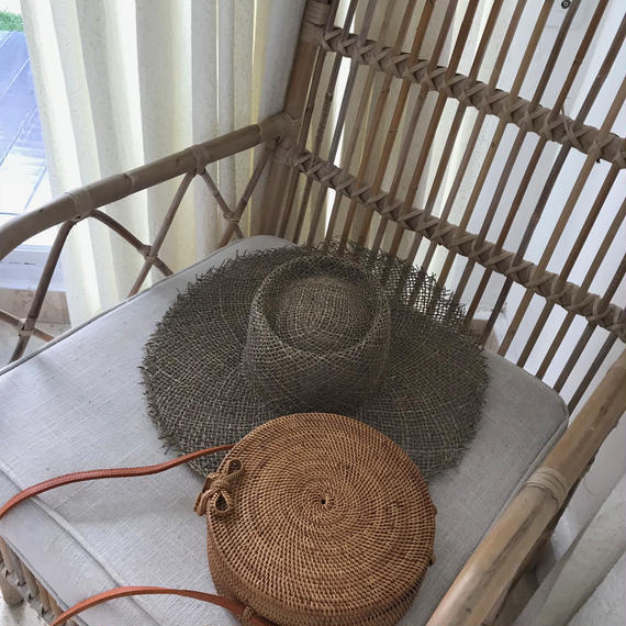 round basket bag-BALI select-
