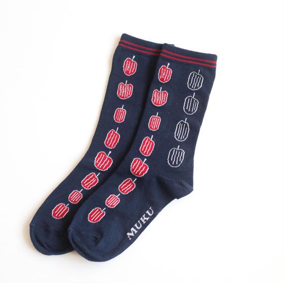 【予約販売】Yukio Watanabe 『りんご』|Socks