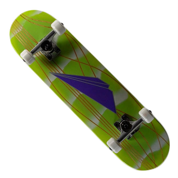 "PAPER AIRPLANES SKATEBOARDS キッズコンプリートスケートボード (Stripe) / 7.5"" X 28.125"""