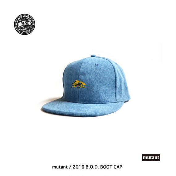 mutant / 2016 B.O.D. boot cap