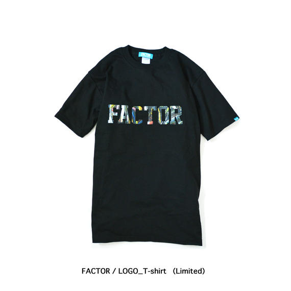 FACTOR / LOGO_T-shirt (Limited)