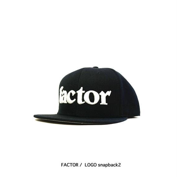 FACTOR LOGO snapback2