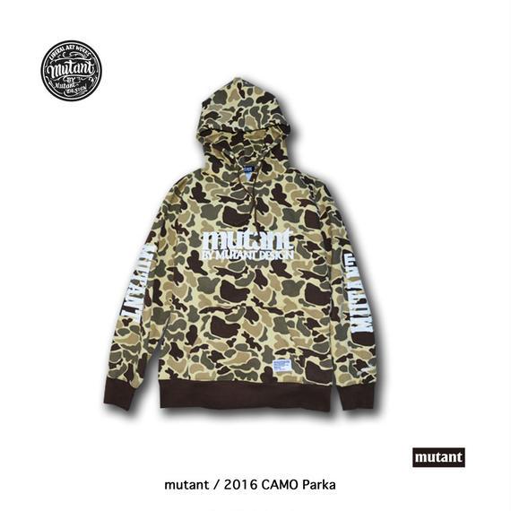 mutant / 2016 CAMO Parka