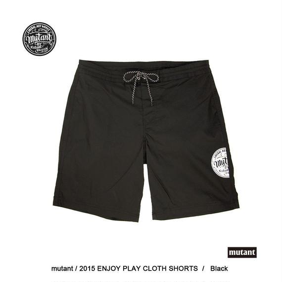 ENJOY PLAY SHORTS / BLK