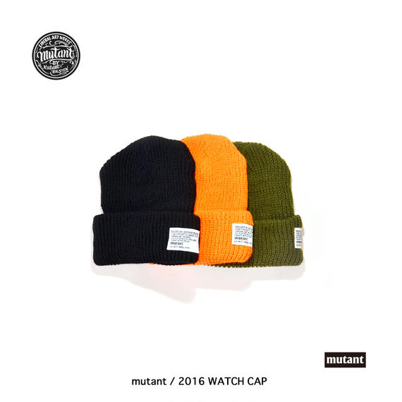 mutant / 2016 WATCH CAP