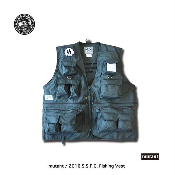 2016 S.S.F.C. Fishing Vest