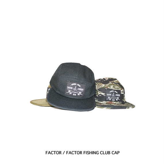 FACTOR Fishing Club Cap #01