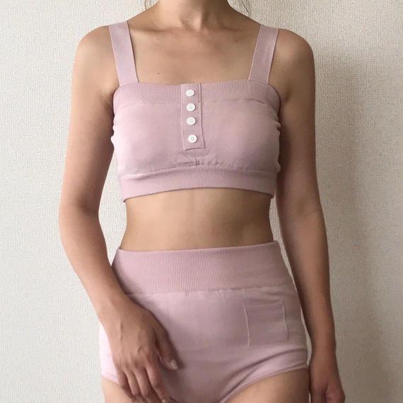 knit bikini[pink]