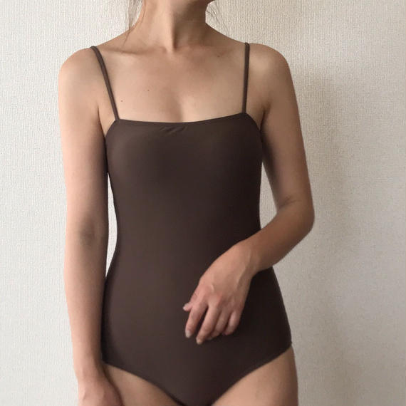 simple one-piece[brown]