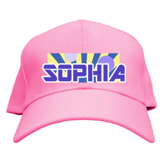-SOPHIA-コットンツイルキャップ