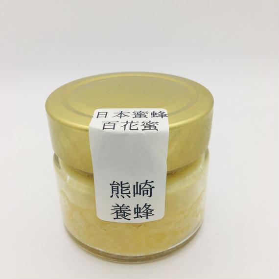 熊崎養蜂 日本蜜蜂百花蜜(はちみつ120g)