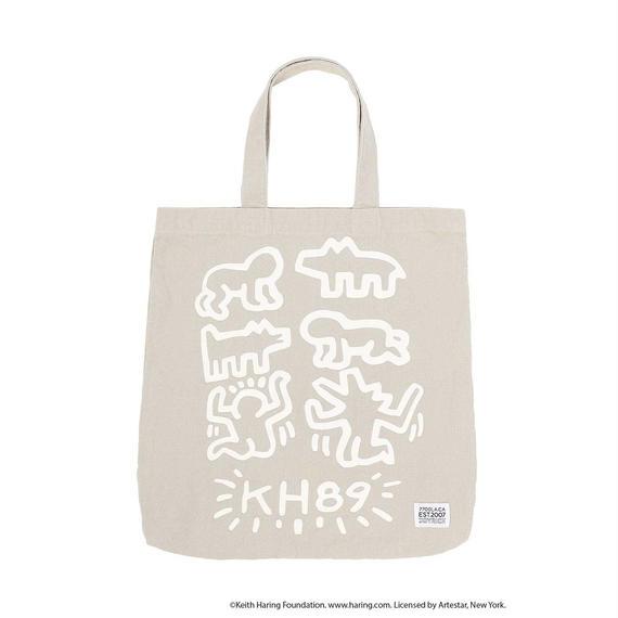 Keith Haring Tote Bag / BEIGE