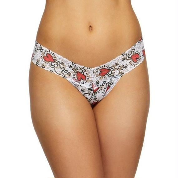 Hanky Panky + Keith Haring Petite Size Low Rise Thong