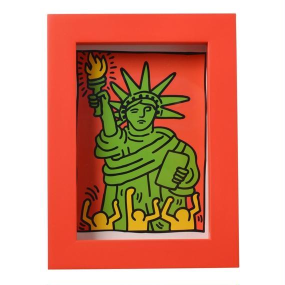 Framed Postcard 額装ポストカード (The Statue Of Liberty)