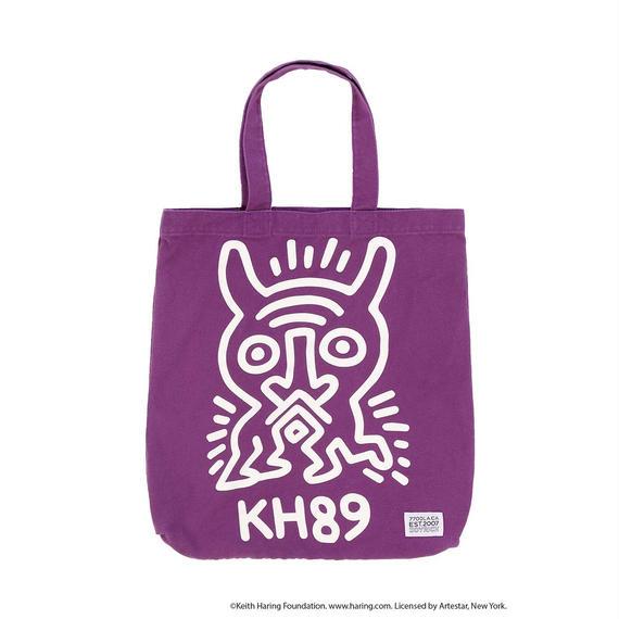 Keith Haring Tote Bag / PURPLE