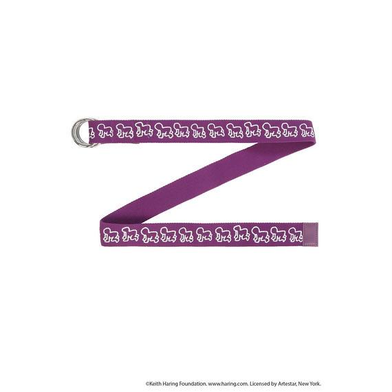 Keith Haring Belt / PURPLE