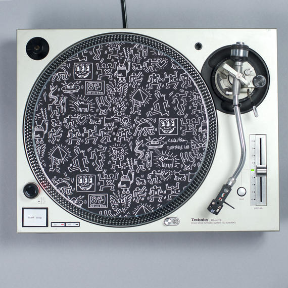 Turntable Lab Record Mat  【Black】 / レコードマット (1枚組)【ブラック】