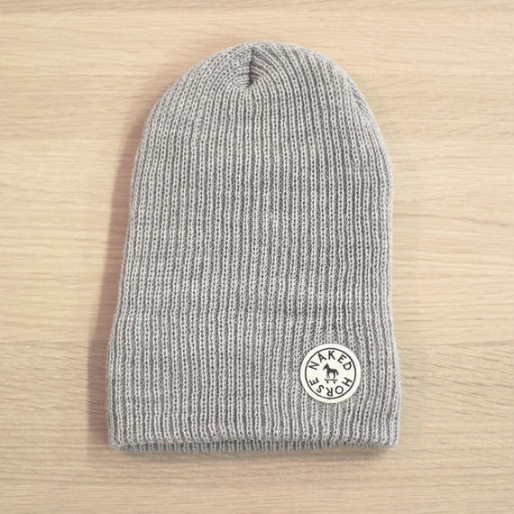 Wappen Knit Cap Gray