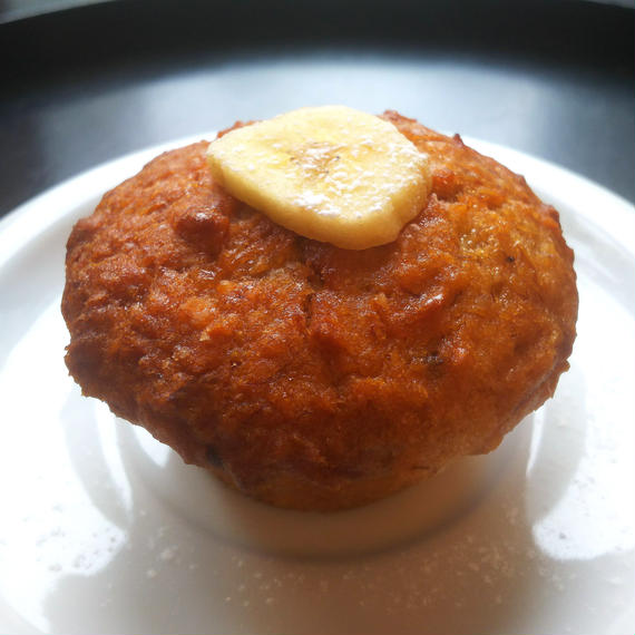 Gluten free banana muffin・グルテンフリーバナナマフィン(3個入り)