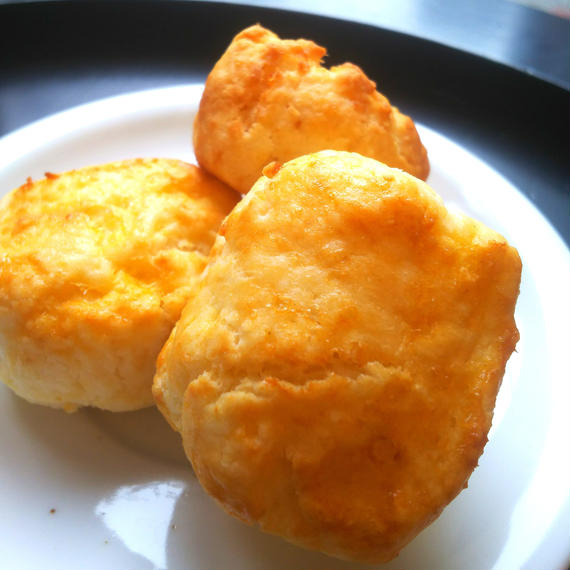 Gluten free plain scones・グルテンフリープレーンスコーン(3個入り)