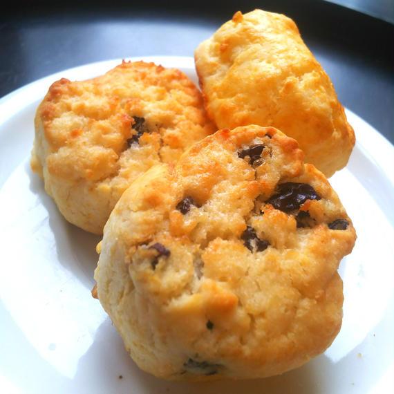 Gluten free raisin scones グルテンフリーレーズンスコーン(3個入り)
