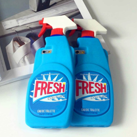 Fresh Cleaning Spray iPhone case (クリーニングスプレーiPhoneケース)