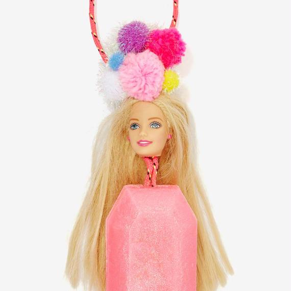 【メール便可 !!】Vegan Barbie Dall Soap on A Rope (バービードール・ビーガンハンドソープ)