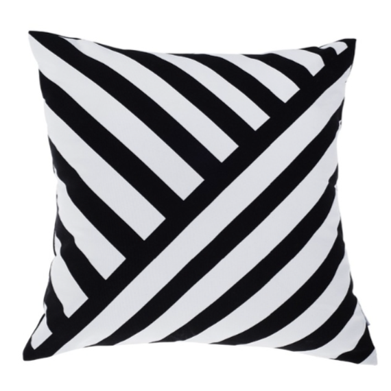 Modern Asymmetric Striped Cushion Pillow Case (アシンメトリーストライプ)