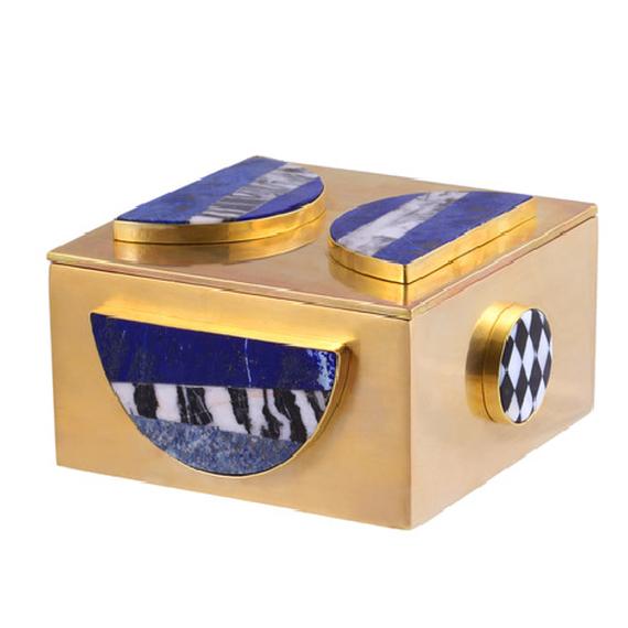 Jewel Stone Bronze Box (天然石ブロンズBox)