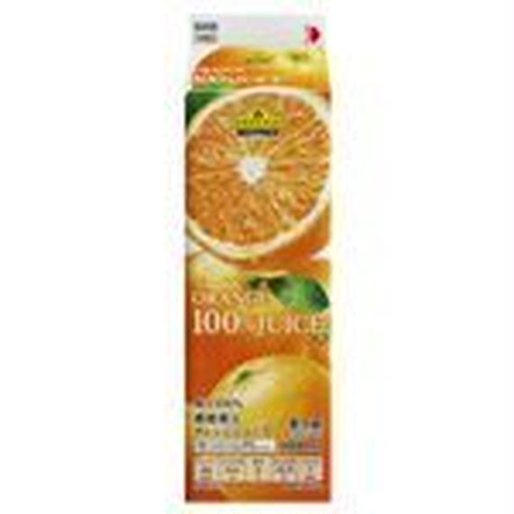 トップバリュベストプライス 100%オレンジジュース 1000ml