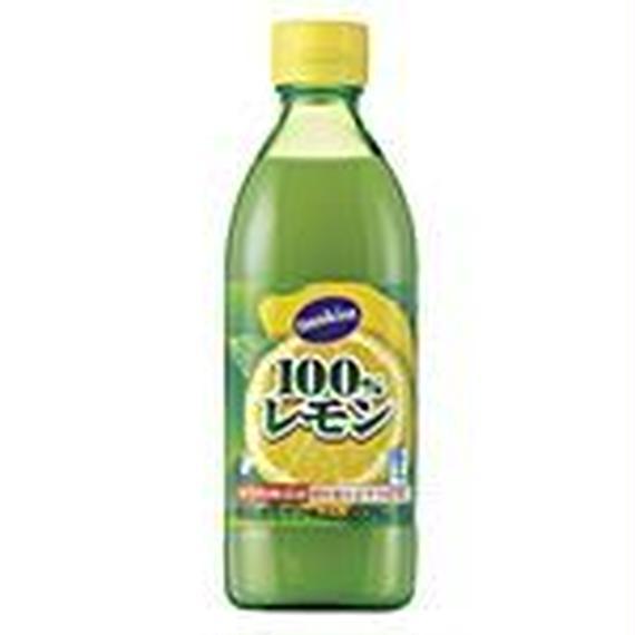 ミツカン サンキスト 100%レモン 500ml