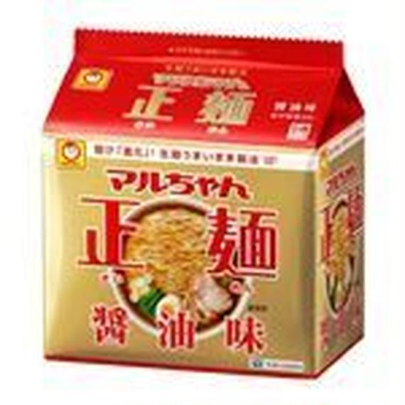 東洋水産 マルちゃん マルちゃん正麺醤油味 5食